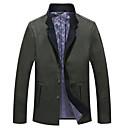 ieftine Becuri LED Bi-pin-Bărbați Zilnic De Bază Iarnă Mărime Plus Size Regular Jachetă, Mată Stand Manșon Lung Poliester Maro / Trifoi XXXXXL / XXXXXXL / 8XL