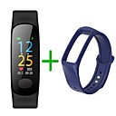 cheap Smartwatches-KUPENG B18Plus Smart Bracelet Smartwatch Android iOS Bluetooth Sports Waterproof Heart Rate Monitor Blood Pressure Measurement Touch Screen Pedometer Call Reminder Activity Tracker Sleep Tracker