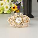 Недорогие Женские часы-FEIS Жен. Дамы Часы-браслет Кварцевый Золотистый Секундомер Аналого-цифровые Мода - Золотистый