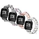 رخيصةأون أساور ساعات هواتف أبل-قذيفة معدنية حزام حزام إلى Apple Watch Series 4/3/2/1 أسود / فضة / بنفجسي 23CM / 9 بوصة 2.1cm / 0.83 Inches