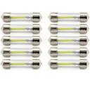 hesapli LED Araba Ampulleri-10pcs 41mm Araba Ampul 1 W COB 85 lm 1 LED İç Işıklar / dış Aydınlatma Uyumluluk Uniwersalny Uniwersalny / KX5 Evrensel