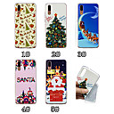 cheap Cases / Covers for Huawei-Case For Huawei P20 / P20 Pro Pattern Back Cover Christmas Soft TPU for Huawei P20 / Huawei P20 Pro / Huawei P20 lite / P10 Lite