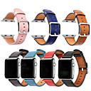 levne Galaxy S pouzdra / obaly-Watch kapela pro Apple Watch Series 4/3/2/1 Apple Sportovní značka Pravá kůže Poutko na zápěstí