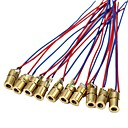 cheap Relays-10 X Mini Laser Dot Diode Module Head WL Red 650nm 6mm 5V 5mW Pack of 10