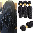 ieftine HDMI-3 pachete Ondulee Largi Păr Natural Neprocesat Wig Accessories Accesoriu de Păr Umane tesaturi de par 8-28 inch Culoare naturală Umane Țesăturile de par Mătăsos Dressing ușor sexy Lady Umane extensii