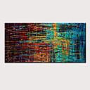olcso iPhone tokok-Hang festett olajfestmény Kézzel festett - Absztrakt Modern Anélkül, belső keret / Hengerelt vászon