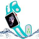 ieftine Carcase/Huse Kindle-Uita-Band pentru Apple Watch Series 4/3/2/1 Apple Banderola Sport Silicon Curea de Încheietură