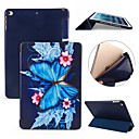 cheap iPad  Cases / Covers-Case For Apple iPad (2018) / iPad Pro 11'' Shockproof / Flip / Ultra-thin Full Body Cases Butterfly Soft Silicone for iPad Air / iPad 4/3/2 / iPad Mini 3/2/1