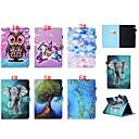 رخيصةأون Huawei أغطية / كفرات-غطاء من أجل Huawei Huawei MediaPad T3 7.0 / Huawei MediaPad T3 10(AGS-W09, AGS-L09, AGS-L03) حامل البطاقات / مع حامل / قلب غطاء كامل للجسم فراشة / بوم / فيل قاسي جلد PU