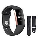 رخيصةأون ساعات ذكية-حزام إلى Fitbit Charge 3 فيتبيت عصابة الرياضة / بكلة كلاسيكية سيليكون شريط المعصم