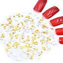 ieftine HDMI-MetalPistol Bijuterie unghii Pentru Unghie Unghie deget picior Stil Minimalist / Interfață 3D / Design special Serie de totemuri Serie de Flori Serie de Bijuterii nail art pedichiura si manichiura