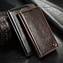 رخيصةأون Sony أغطية / كفرات-غطاء من أجل Sony Sony Xperia Z3 محفظة / حامل البطاقات / مع حامل غطاء كامل للجسم لون سادة قاسي جلد PU