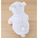 cheap Dog Supplies & Grooming-Dogs / Cats Costume Dog Clothes Solid Colored / Character / Slogan White Plush Costume For Pets Unisex Stylish / Camouflage