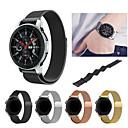 baratos Pulseiras para Samsung-Pulseiras de Relógio para Samsung Galaxy Watch 46 Samsung Galaxy Pulseira Esportiva / Pulseira Estilo Milanês Aço Inoxidável Tira de Pulso