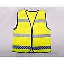 hesapli Oto Stickerları-iş yeri için güvenlik kıyafetleri güvenlik malzemeleri acil sinyal ızgarası çoklu cep yansıtıcı yelek
