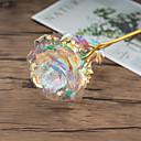 رخيصةأون أزهار اصطناعية-زهور اصطناعية 1 فرع كلاسيكي ترف الحديث الورود أزهار الطاولة