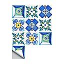 رخيصةأون ملصقات ديكور-لواصق حائط مزخرفة - لواصق تجريدي / الأزهار / النباتية دورة المياه / مطبخ