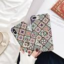 رخيصةأون ملصقات ديكور-غطاء من أجل Apple iPhone XS / iPhone XR / iPhone XS Max حامل الخاتم / نحيف جداً / مثلج غطاء خلفي زهور قاسي الكمبيوتر الشخصي