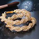 billige Mode Halskæde-Dame Crossover Store øreringe Øreringe stjernestøv Mode Moderne Sej Smykker Guld Til Natklub Bar 1 Par