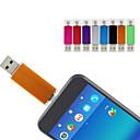 זול דיסק נייד USB-Ants 64GB דיסק און קי דיסק USB USB 2.0 / מיקרו USB מעטפת מתכת לא סדיר סדינים