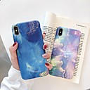 cheap iPhone X Screen Protectors-Case For Apple iPhone XR / iPhone XS Max Glow in the Dark / Frosted Back Cover Scenery Hard PC for iPhone XS / iPhone XR / iPhone XS Max