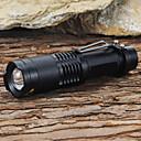 ieftine lanterne-Lanterne LED LED LED 1 emițători 1200 lm 5 Mod Zbor Cu Baterie și Încărcător Focalizare Ajustabilă Rezistent la Impact Mască exterioară lanternă Camping / Cățărare / Speologie Utilizare Zilnică De