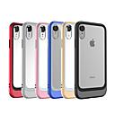levne iPhone pouzdra-Carcasă Pro Apple iPhone XR / iPhone XS Max Galvanizované / Průhledné Zadní kryt Jednobarevné Pevné Akrylát / PC pro iPhone XS / iPhone XR / iPhone XS Max