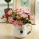 preiswerte Künstliche Blumen-Künstliche Blumen 5 Ast Klassisch Europäisch Pastoralen Stil Gänseblümchen Tisch-Blumen