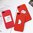 abordables Coques d'iPhone-Coque Pour Apple iPhone XR / iPhone XS Max Motif Coque Animal / Bande dessinée Flexible TPU pour iPhone XS / iPhone XR / iPhone XS Max