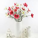 preiswerte Künstliche Blumen-Künstliche Blumen 3 Ast Klassisch Stilvoll Pastoralen Stil Gänseblümchen Tisch-Blumen