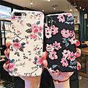 رخيصةأون أغطية أيفون-غطاء من أجل Apple iPhone XS / iPhone XR / iPhone XS Max نحيف جداً / نموذج غطاء خلفي زهور ناعم TPU