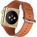 preiswerte Apple Watch Armbänder-Uhrenarmband für Apple Watch Series 4/3/2/1 Apple Klassische Schnalle Echtes Leder Handschlaufe