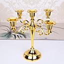 رخيصةأون Home Fragrances-أسلوب بسيط / الطراز الأوروبي الحديد Candle Holders شمعدان 1PC, شمعة / حامل شمعة