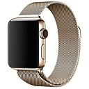 رخيصةأون أساور ساعات هواتف أبل-حزام إلى Apple Watch Series 4/3/2/1 Apple عقدة ميلانزية ستانلس ستيل شريط المعصم