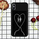 رخيصةأون أقراط-غطاء من أجل Apple iPhone XS / iPhone XR / iPhone XS Max نموذج غطاء خلفي جملة / كلمة ناعم TPU