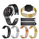 tanie Opaski do zegarka Samsung-Watch Band na Gear S3 Frontier / Gear S3 Classic / Samsung Galaxy Watch 46 Samsung Galaxy Pasek sportowy / Design biżuterii Stal nierdzewna Opaska na nadgarstek