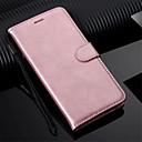 رخيصةأون بدلات-غطاء من أجل Huawei Huawei P20 / Huawei P20 Pro / Huawei P20 lite محفظة / حامل البطاقات / مع حامل غطاء كامل للجسم لون سادة قاسي جلد PU / P10 Lite / P10