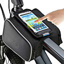 cheap Bike Lights-ROSWHEEL Cell Phone Bag Bike Frame Bag Top Tube 5 inch Touch Screen Cycling for iPhone 8/7/6S/6 iPhone X iPhone XR Black Cycling / Bike / iPhone XS / iPhone XS Max / Waterproof Zipper