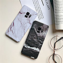 cheap True Wireless Earbuds-Case For Samsung Galaxy S9 / S9 Plus / S8 Plus Ultra-thin / Pattern Back Cover Marble Hard PC