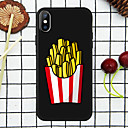 رخيصةأون أغطية أيفون-غطاء من أجل Apple iPhone XS / iPhone XR / iPhone XS Max نموذج غطاء خلفي مأكولات ناعم TPU