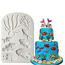 ieftine Ustensile & Gadget-uri de Copt-3d silicon mucegai mare animale fondant tort decorare instrumente steluța coajă de ciocolată gumpaste mucegai