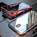 رخيصةأون حافظات / جرابات هواتف جالكسي J-غطاء من أجل Samsung Galaxy / Huawei J8 / J6 (2018) / J6 Plus شفاف غطاء كامل للجسم لون سادة قاسي زجاج مقوى