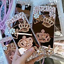 cheap Galaxy S Series Cases / Covers-Case For Samsung Galaxy Galaxy S10 / Galaxy S10 Plus Rhinestone Back Cover Rhinestone Hard Acrylic for Galaxy S10 / Galaxy S10 Plus / Galaxy S10 E