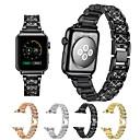 ieftine Becuri De Mașină LED-Uita-Band pentru Apple Watch Series 4/3/2/1 Apple Catarama Clasica Metal Curea de Încheietură