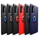 رخيصةأون Huawei أغطية / كفرات-غطاء من أجل Huawei Huawei P30 Pro / هواوي P30 لايت ضد الصدمات / مع حامل / حامل الخاتم غطاء خلفي لون سادة ناعم TPU إلى Huawei P20 / Huawei P20 Pro / Huawei P20 lite