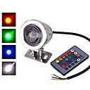 ieftine Proiectoare LED-1pc 10w condus de lumina de inundații cu senzor infraroșu dimmable controlat la distanță rgb 85-265v 12v de iluminat în aer liber curte grădină margele 1led