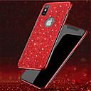 رخيصةأون أغطية أيفون-غطاء من أجل Apple iPhone XS / iPhone XR / iPhone XS Max تصفيح / بريق لماع غطاء خلفي شفاف / بريق لماع ناعم TPU