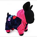 Χαμηλού Κόστους Ρούχα και αξεσουάρ για σκύλους-Σκυλιά Γάτες Φόρμες Ρούχα για σκύλους Καρδιά Αποφθέγματα Μπλε Ροζ Βαμβάκι Στολές Για Μπισόν Φριζέ Πομεράνιαν Φθινόπωρο Χειμώνας Άνδρας Γυναίκα Στυλάτο Συνηθισμένο