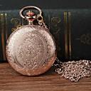 ieftine Ceasuri Bărbați-Bărbați Ceas de buzunar Quartz Roz auriu Ceas Casual Mare Dial Analog Floare Modă - Roz auriu