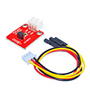 cheap Modules-DS18B20 Temperature (Red) White Terminal With 3pin Dupont Wire